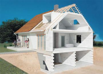 Дом из газоблока