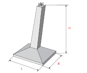 Фундаменты под опоры ВЛ 35-330 КВ