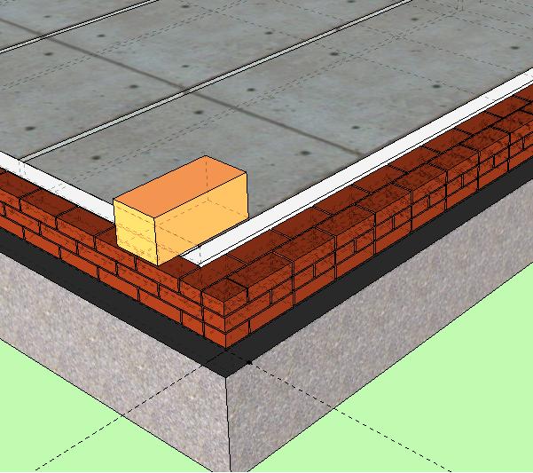 Плиты перекрытия на кирпичных стенах