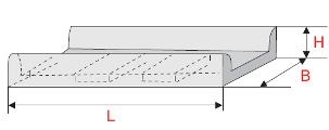 Лоток для наземной прокладки кабелей
