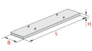 Крышки лотков типа Л (Серия 3.006.1-2.87)