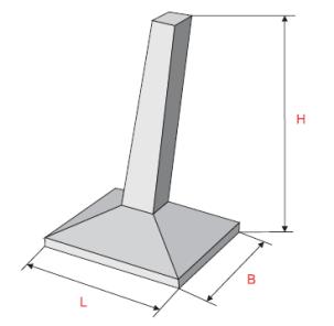 Фундамент под оборудование для электрических подстанций 35-500 КВ
