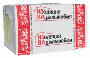 Базальтовый утеплитель ИЗБА