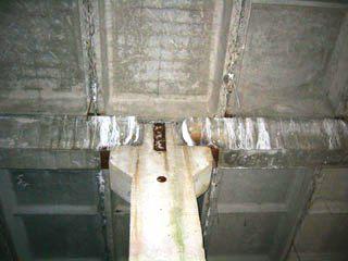 Выщелачивание кальция из бетонных конструкций