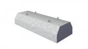 Блоки фундамента прямоугольной трубы